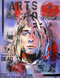 "Saatchi Art Artist Martin Georg Sonnleitner; Painting, ""Cobain"" #art"