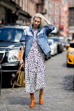 Best Street Style Looks of NYFW Spring 2018