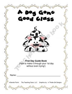 Dog Theme First Day Guide Book