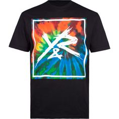 YOUNG & RECKLESS Tie Dye Square Mens T-Shirt #tiedye #reckless #steeze