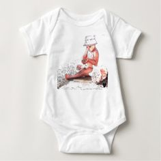 HAMbyWG - Baby T-Shirt or Snap - Baby on Beach