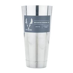 Viski Professional: Large 800ml Weighted 18/8 Stainless Steel Cocktail Shaker Tin - Viski by True Fabrications