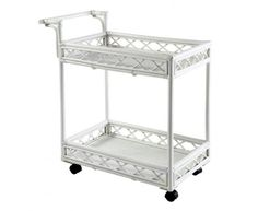 our Barbados Drinks Trolley, or Bar Cart, is hand crafted from White Rattan. Features 2 shelves for attractive storage of your drink Wooden Side Table, Black Side Table, White Side Tables, Barbados, Caribbean Drinks, Drinks Trolley, British Colonial, Coastal Homes, West Indies