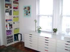 Tiffany Leigh Interior Design: Favourite Furniture Fridays: IKEA ALEX drawer unit with casters
