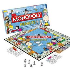 Peanuts Monopoly!!! One of my favorites... and yes I designed this game :)