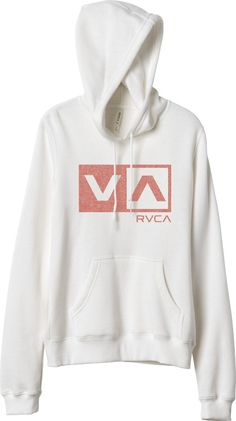 Basic// The RVCA Coaster Box Hoodie