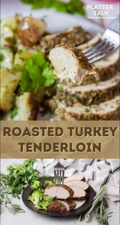 Learn how to make turkey tenderloin with this easy recipe from Platter Talk. Follow all of our boards for ore delicious budget meals! Easy Family Dinners, Easy Meals, Herb Roasted Turkey, Turkey Tenderloin, Best Turkey, Kid Friendly Meals, Recipe Of The Day, Clean Eating, Cooking Recipes