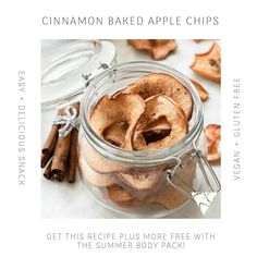 The recipe for these delicious Cinnamon Baked Apple Chips can be found in our Summer Ready 4 Week Program (e-book) .  Our Program contains over 25 Plant Based + Gluten Free recipes with Macro breakdowns as well as a nutrition plan and much more! 💪✨ . Get it FREE when you purchase the Summer Body Pack! . www.uniquemuscle.com.au 💕 Healthy Eating Habits, Healthy Tips, Easy Snacks, Yummy Snacks, Apple Chips, Macro Meals, Nutrition Plans, Gluten Free Recipes, Free Food
