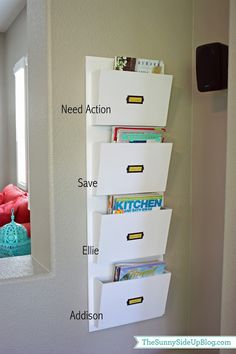 15 Back to School Organization Ideas!! -- Tatertots and Jello