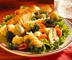 Vegetable and Pasta Toss Recipe | Food Recipes - Yahoo! Shine