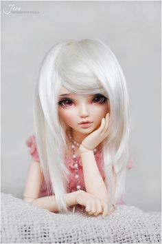 Gorgeous Ball Jointed Doll by Andreja     #bjd #doll Lovely Pose, And The Bjd Just Looks So Innocent!