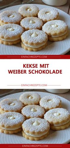 ZUTATEN : 280 g Mehl 90 g Puderzucker 4 g Backpulver 140 g Butter 1 Teel. INGREDIENTS: 280 g of flour 90 g of powdered sugar 4 g of baking powder 140 g of butter 1 teaspoon of vanilla extract (or v Fudge Recipes, Cookie Recipes, German Baking, Cinnamon Cream Cheese Frosting, Le Diner, Pumpkin Spice Cupcakes, Fall Desserts, Chocolate Cookies, Chip Cookies
