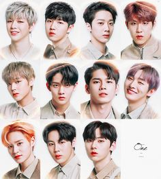 #WannaOne❤️❤️ K Pop, Ong Seung Woo, You Are My World, Dream Boy, Ha Sungwoon, Together Forever, Seong, 3 In One, Kpop Boy