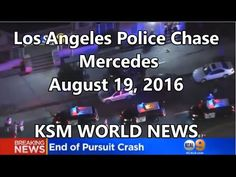 【KSM】Police Chase Theft Suspects From Glendora To Downtown Los Angeles A...