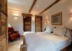 décoration cosy pour chambre chalet