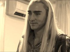 Imagine LotR/TH making a sweet joke so funny that Thranduil (who is usually very serious) can't help but giggle. <<<or some random person yelling a hilarious word at a random moment that would make anyone laugh. Haha
