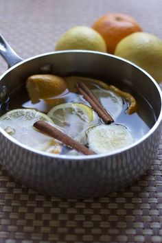 Want to make your house smell great the natural way? Here's how to make stovepot potpourri