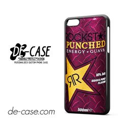 Rockstar Energy Drink Guava Punched For Iphone 5C Case Phone Case Gift Present YO