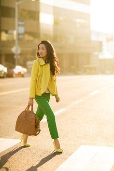 Jewel Tones :: Topaz yellow & Emerald green : Wendy's Lookbook