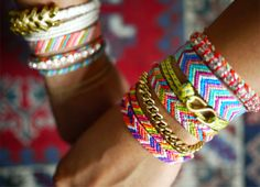 Chevron friendship bracelets. Oh... so many childhood memories making these! http://media-cache3.pinterest.com/upload/131589620332306023_u0z6mq5s_f.jpg kadodo fun projects