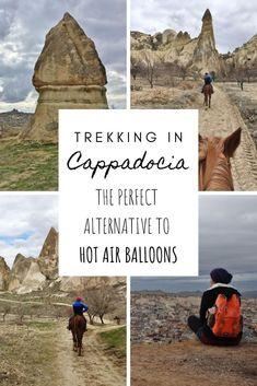 Trekking In Cappadocia - An Alternative To Hot Air Balloons - This Wild Life Of Mine Cappadocia, Wild Life, Hot Air Balloon, Continents, Trekking, Mount Rushmore, Balloons, Alternative, To Go