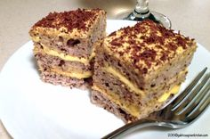 It is called Royal Cake. It has 3 layers of Dacquoise Cake with buttercream flavored with orange peel and orange juice, decorated with shaved chocolate. Dacquoise, Romanian Food, Cooking Instructions, Cook At Home, Egg Whites, Something Sweet, No Bake Cake, How To Make Cake, Banana Bread