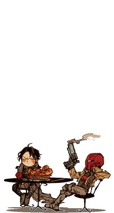 Red robin and red hood