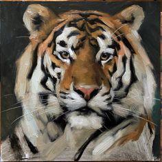 Tiger Artwork, Tiger Painting, Tiger Spirit Animal, Tiger Species, Big Cat Family, Panther Cat, Animal Symbolism, A Level Art, Wildlife Art