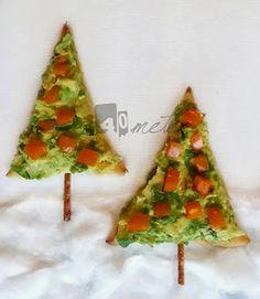 Mega Last Minute Weihnachtssnacks: Pizza Tannenbäume