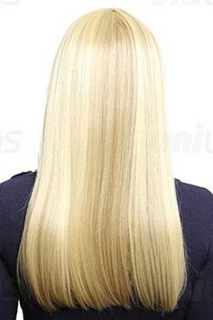 Uniwigs Hairstyle: Charming Long Blonde Straight Hair Styles by Fashion Street NO.1