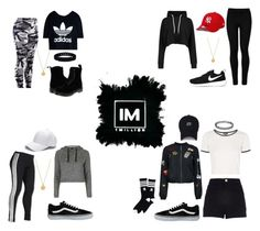 1MILLION DANCE STUDIO #10 by kariina-sykes on Polyvore featuring moda, Topshop, adidas Originals, Boohoo, River Island, Wolford, adidas, Dr. Martens, Vans and NIKE