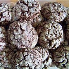 Chocolate Crinkle Cookies @ allrecipes.co.uk