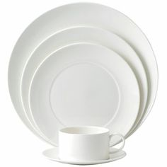Wedgwood - Ashlar White 5-Piece Place Setting Round