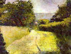 The Hollow Way, 1882 Georges Seurat
