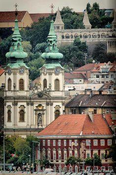 Budapest, Budapest, te csodás... Budai látképrészlet. Hungary