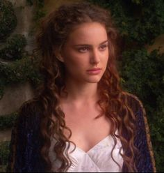 Padme - I want this hair. I'm watching Star Wars and I can't help but just admire how flawless Natalie Portman  is.