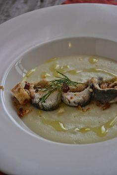 La Cucina di Stagione: Sarde marinate su crema di patate e cavolfiore