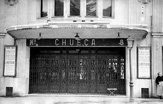 Cine Chueca Foto Madrid, Dream Theater, Bucharest, Cinema, Villa, Black And White, City, Places, Outdoor Decor