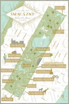 Large Format 36x54 Map for Place Card Table for Canvas by cwdesigns2010 on Etsy cws-designs.com