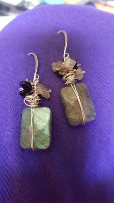 Labradorite Labradorite, Jewelry Making, Drop Earrings, Jewellery, Jewelery, Jewellery Making, Jewlery, Chandelier Earrings, Make Jewelry