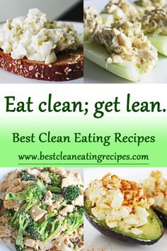 If you eat clean, you will get lean. Visit www.bestcleaneatingrecipes.com for more clean and lean ideas. #cleaneating #eatclean #healthyrecipe #fitness #fitfam