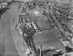The cricket field at the bottom is now a school. The industrial area to the left a housing estate. The rugby pitch and houses are still in existence. Newport Gwent, Newport County, Welsh Rugby, South Wales, Google Images, City Photo, Backdrops, Change, River