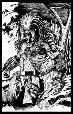 predator-- by ashasylum.deviantart.com on @DeviantArt