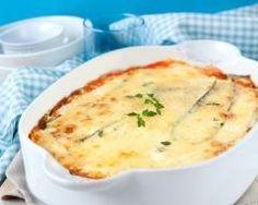 Lasagnes végétariennes aux lentilles : http://www.cuisineaz.com/recettes/lasagnes-vegetariennes-aux-lentilles-88338.aspx