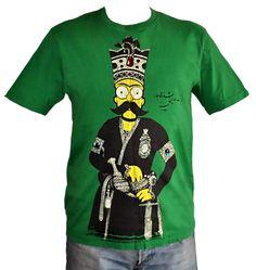 ALANGOO-Handcrafted fitted T-shirt, PersianTshirt, BartShah