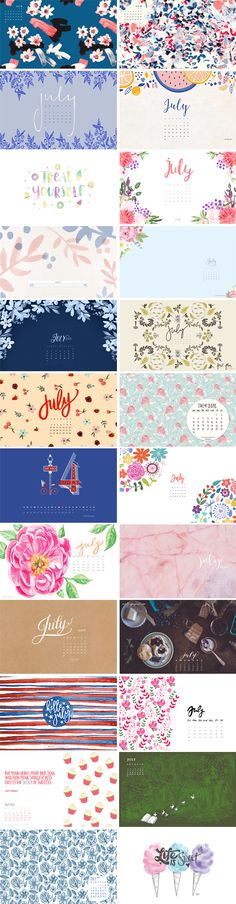 Happy July everyone! Enjoy this awesome roundup of monthly desktops to brighten up your day :-) 1. & 2. Ivanka Trump | 3. Sea of Atlas | 4. Flipsnack 5. Clementine Creative | 6. Dawn Nicole | 7. Design is Yay 8. Grace and Serendipity | 9. Blushed Design 10. Going Home to Roost |…