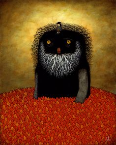 Andy Kehoe. #monster #forest #dream
