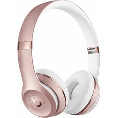 Beats by Dr. Dre Beats Solo3 Wireless Headphones Pink MNET2LL/A - Best... ❤ liked on Polyvore featuring accessories and beats by dr. dre