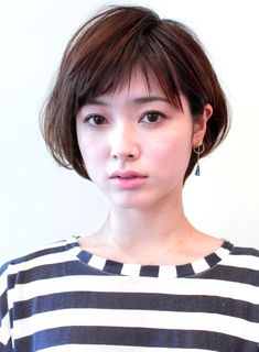 Pin on ファッションアイデア Pin on ファッションアイデア Choppy Bob Hairstyles, Cute Short Haircuts, Cute Hairstyles For Short Hair, Asian Short Hair, Short Hair Cuts, Short Hair Styles, Good Hair Day, Hair Inspiration, Hair Makeup