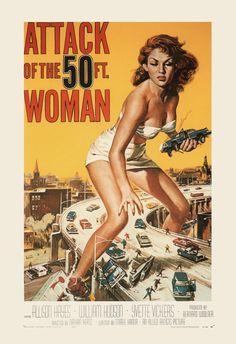 RETRO MOVIE POSTER Vintage B-Movie Poster by EncorePrintSociety
